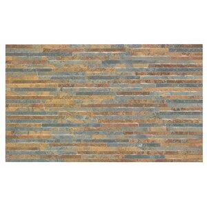 Snowdonia 29.8cm x 49.8cm Ceramic Splitface Tile in Brown