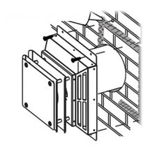 Wall Terminal for The Dream Fireplace Vent Kit by Napoleon