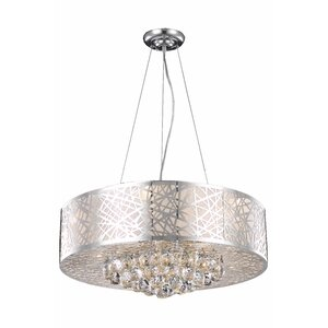 Athema 9-Light Drum Chandelier