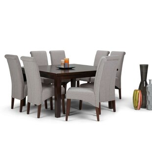 Agnon 9 Piece Dining Set by Alcott Hill Comparison