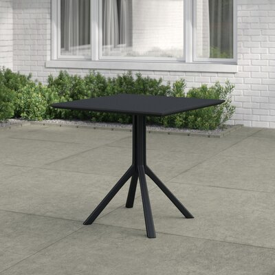 Curnutt Square Plastic 29.5 Inch Dining Table by Mercury Row Amazing