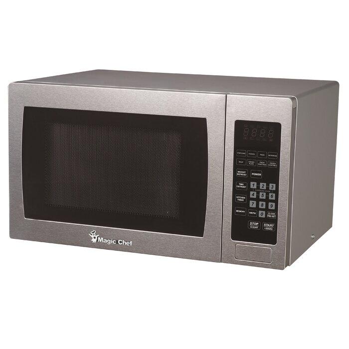 19 1 0 9 Cu Ft 900 Watt Digital Touch Countertop Microwave