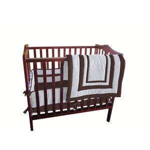 bertie hotel style portable crib bedding set