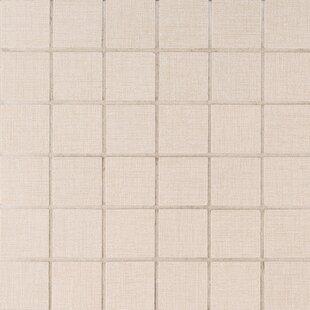 Loft 2 inch  x 2 inch  Porcelain Mosaic Tile in Beige