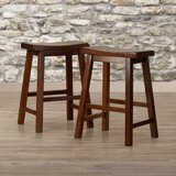 Keele 24 Bar Stool (Set of 2) by Loon Peak®