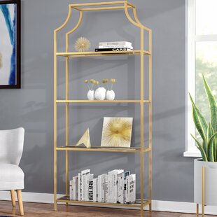 Timblin 4 Tier Etagere Bookcase