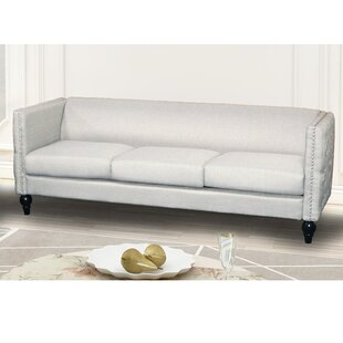 Read Reviews Lacayo Modern Nail-head Sofa by House of Hampton Reviews (2019) & Buyer's Guide