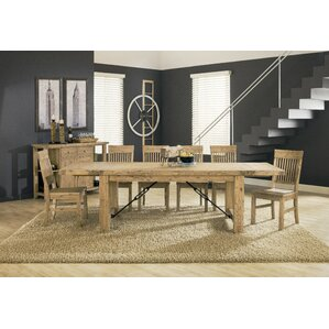 Chugwater 7 Piece Dining Set by Loon Peak