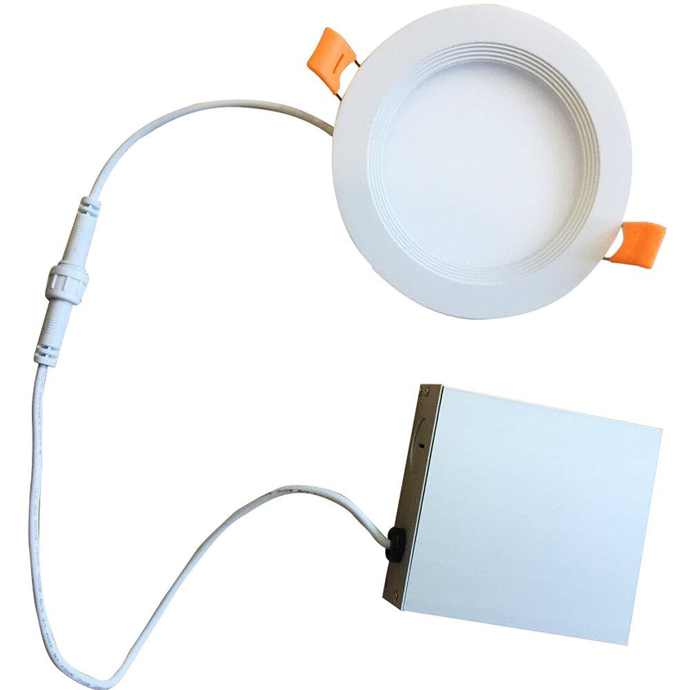 Bulbrite Industries 4 Ultra Slim Remodel Ic Led Canless Recessed Lighting Kit Wayfair