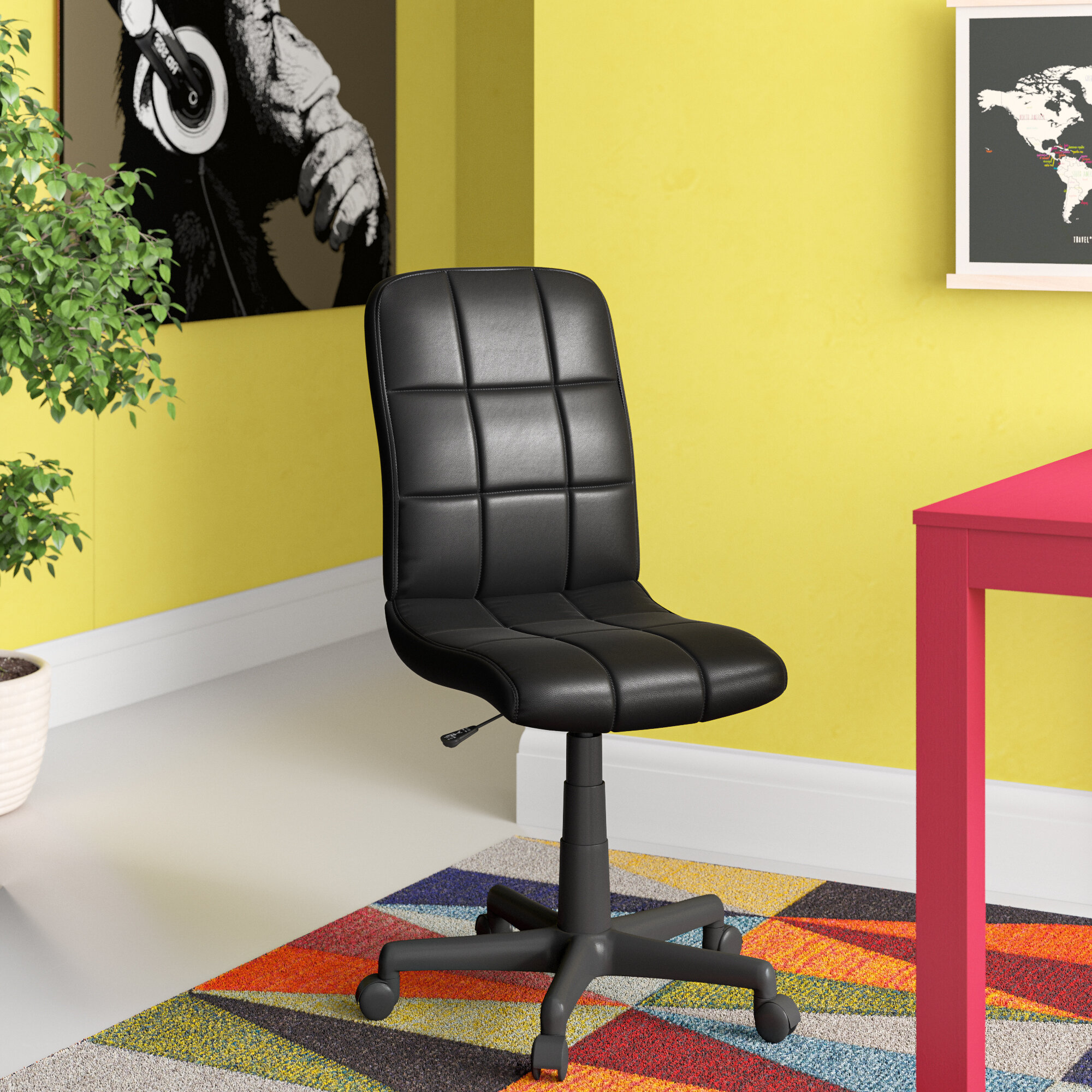 Pink Office Chairs You Ll Love In 2020 Wayfair