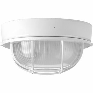 Sedwick Outdoor Bulkhead Light by Breakwater Bay Design