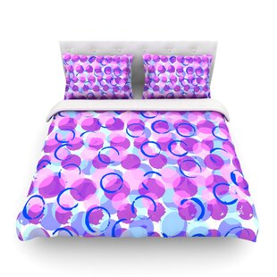 Dotty by Emine Ortega Featherweight Duvet Cover By East Urban Home