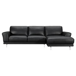 Randalholme Contemporary Leather Sectional