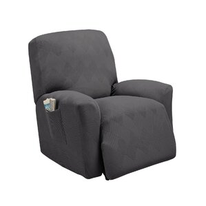 Madden Box Cushion Recliner Slipcover by Red..