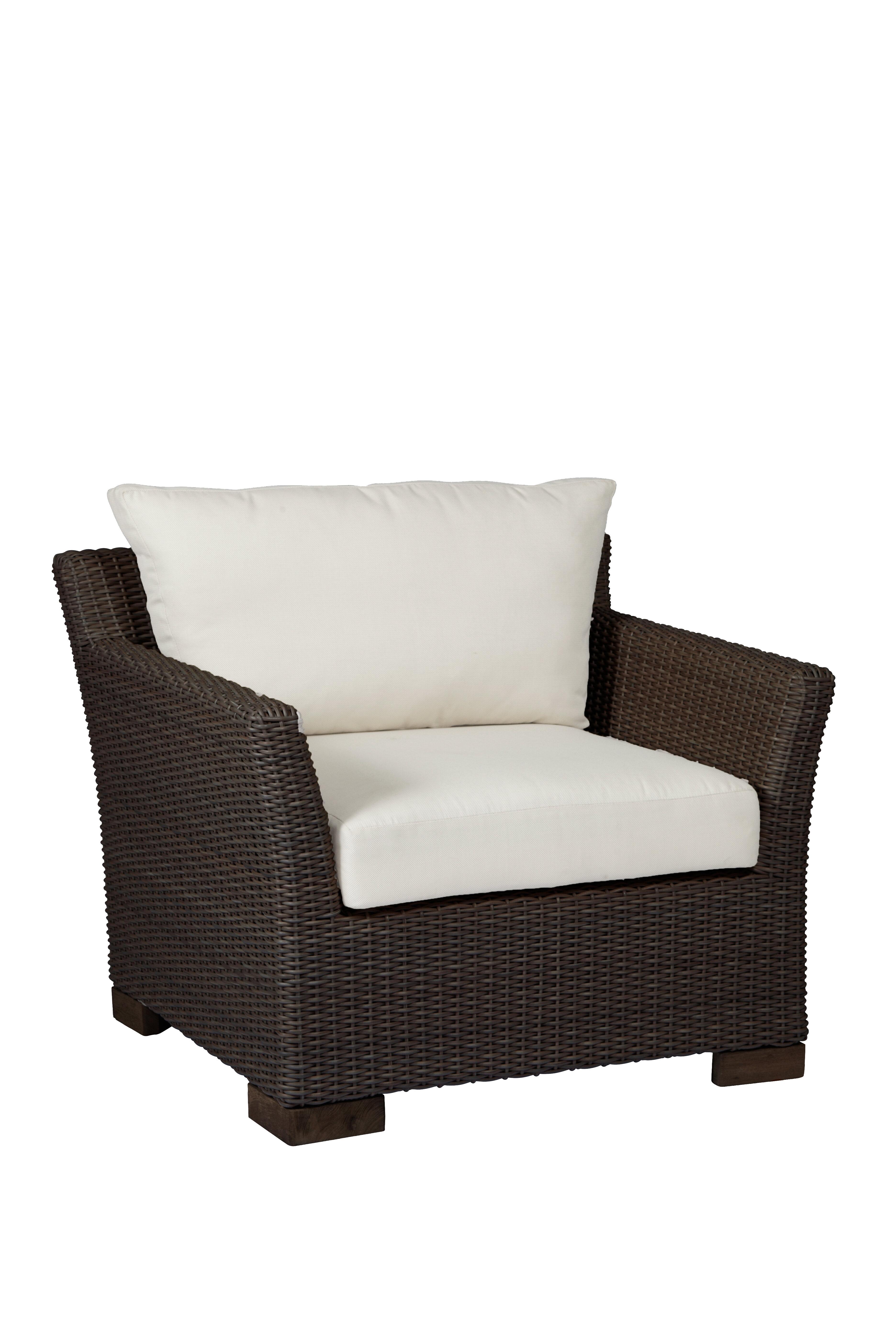 Summer Clics Club Woven Patio Chair