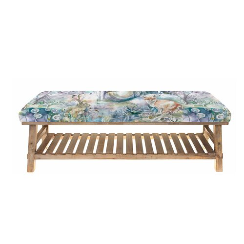 Renley Upholstered Storage Bench August Grove