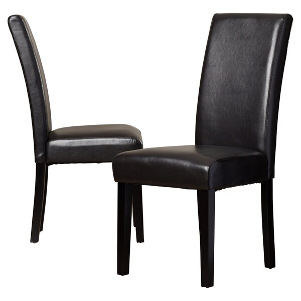 Ivory Leather Dining Chair Wayfair