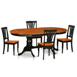 Aleta 5 - Piece Dining Set by Alcott Hill®