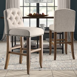 Lakeport 30.75 Bar Stool (Set of 2) Greyleigh