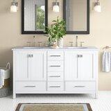 Langford 60 Double Bathroom Vanity Set by Longshore Tides