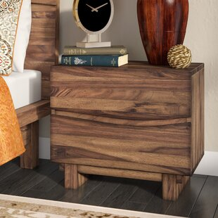 Mericle 2 Drawer Nightstand by World Menagerie