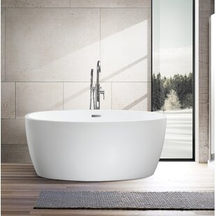 Find for 55 x 32 Freestanding Soaking Bathtub By Vanity Art