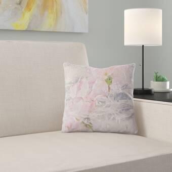 East Urban Home Purity Throw Pillow Cover Wayfair
