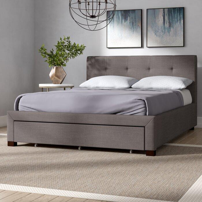 Mizuno Upholstered Storage Platform Bed
