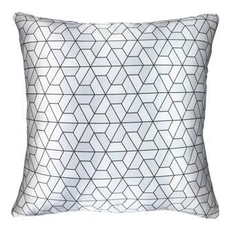Nectarmodern Modern Printed Satin Throw Pillow Reviews Wayfair