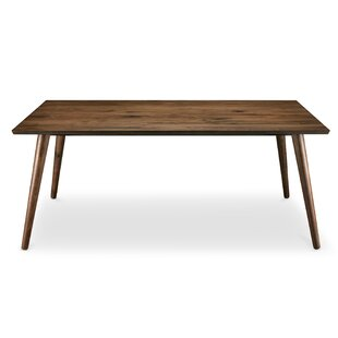 Bradly Solid Wood Dining Table Wrought Studio