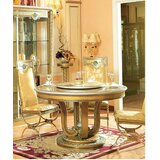 E-16 Round Dining Table by Infinity Furniture Import