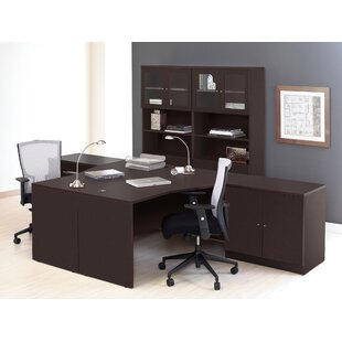 Top Reviews Pro X 6 Piece L-shaped Desk Office Suite By Haaken Furniture