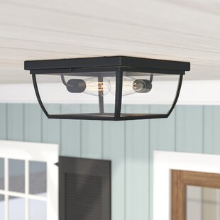 Grenada 2-Light Outdoor Flush Mount