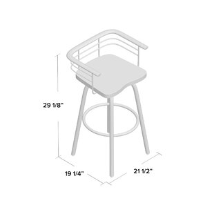 Tungsten 29 Swivel Bar Stool Trent Austin Design