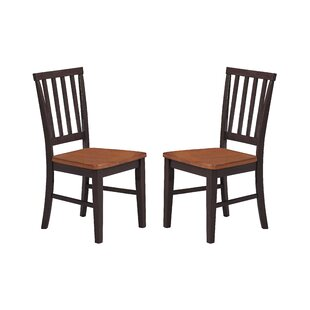 Espy Slat Back Chair (Set of 2) DarHome Co