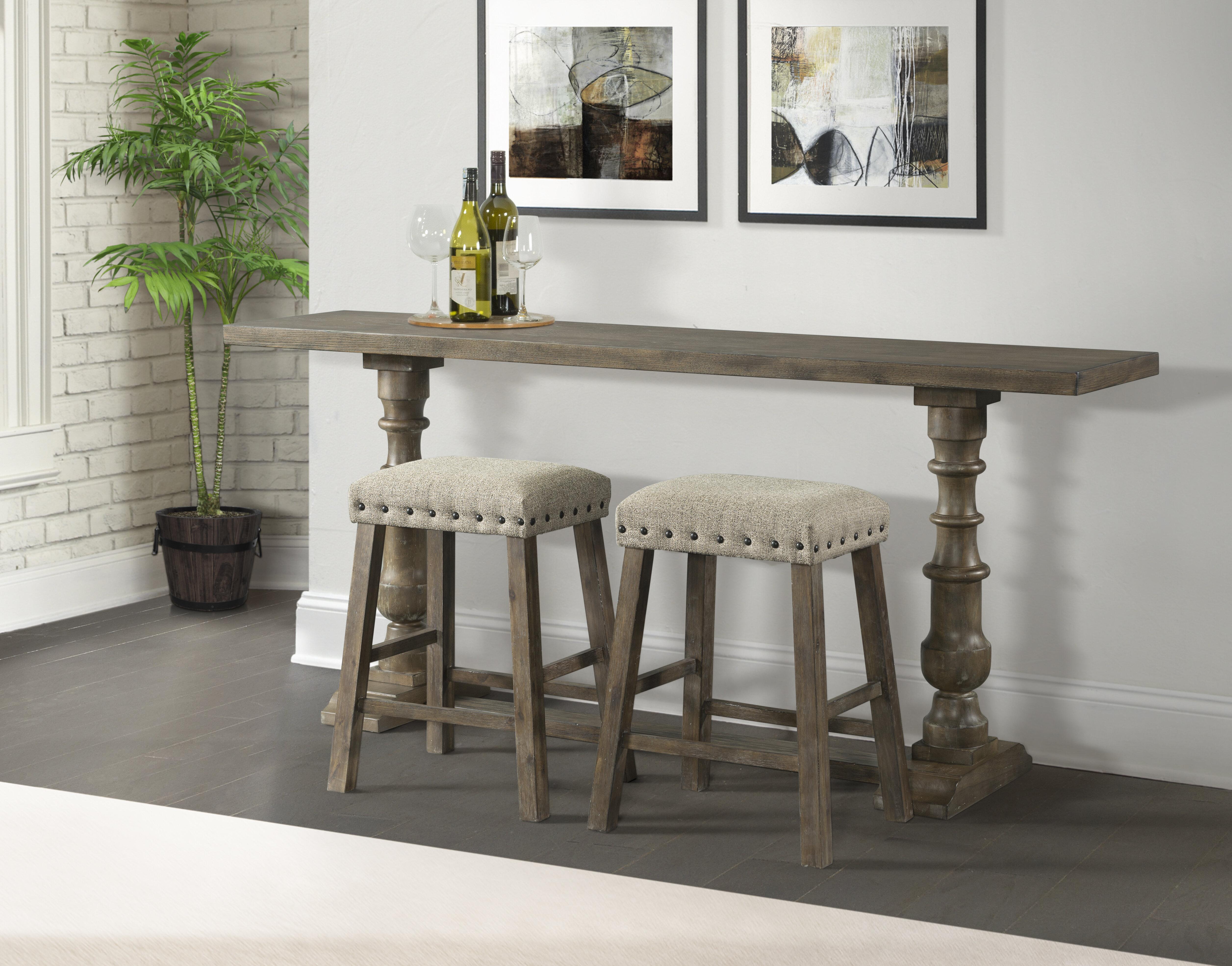 Awe Inspiring Schweitzer Sofa Pub Table Cjindustries Chair Design For Home Cjindustriesco