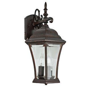 Branton 3-Light Outdoor Wall Lantern