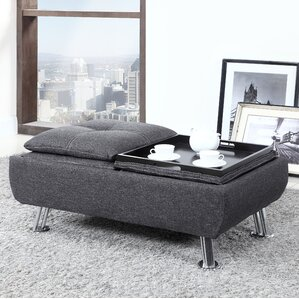 Coffee Table with Tray Top by Best Quality Furniture