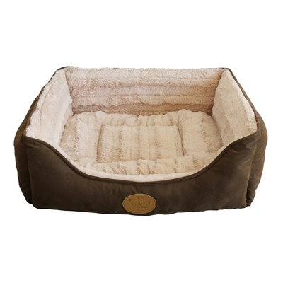 "Square Bolster Dog Bed (set Of 6) Best Pet Supplies Size: Large - 26"" L X 24"" W"
