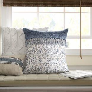 Farmhouse Rustic Blue Throw Pillows Birch Lane
