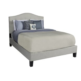 Anguila Upholstered Platform Bed by Rosecliff Heights