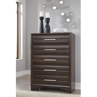 Setzer 5 Drawer Standard Dresser/Chest