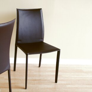 Miranda Upholstered Dining Chair (Set of 2) Wade Logan
