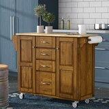 Stroman-a-Cart Kitchen Island by August Grove®