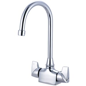 Central Brass Double Handle Deck Mounted Bar Faucet