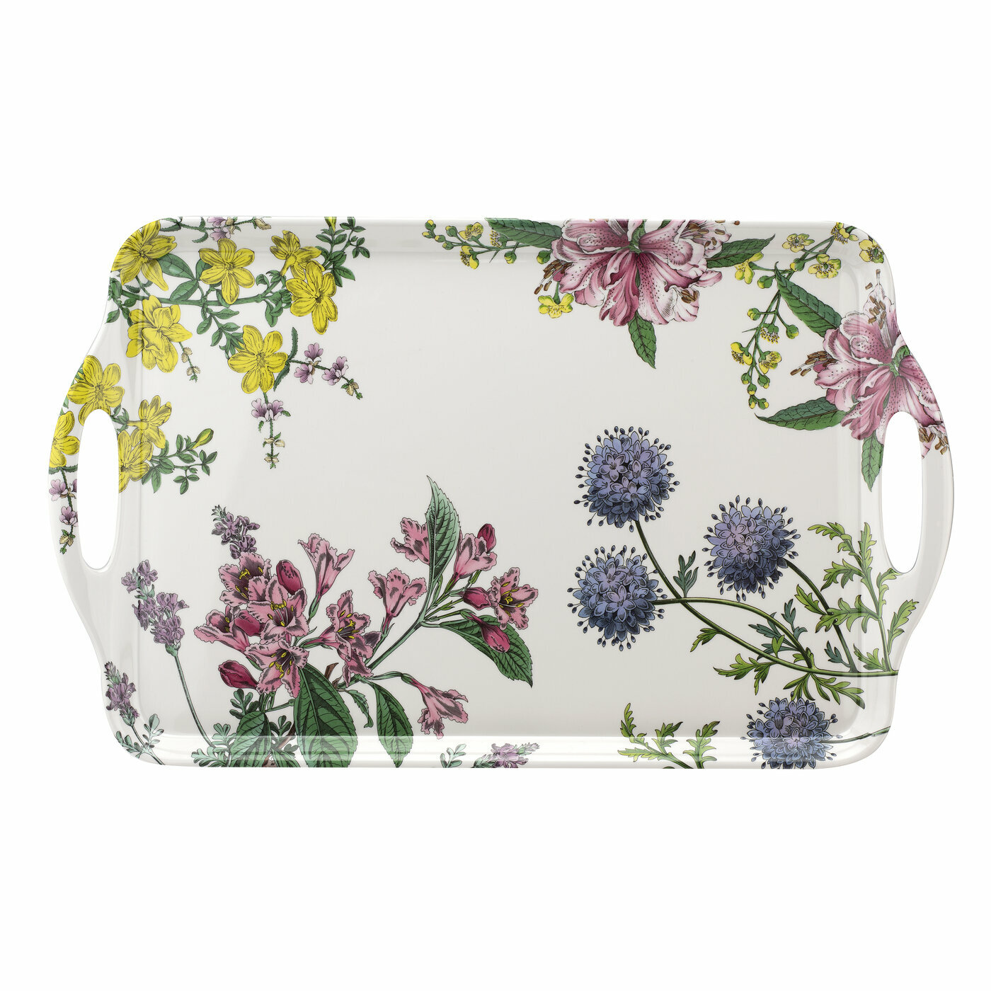 Pimpernel Stafford Blooms Placemats Large Set Of 4 Home Place Mats