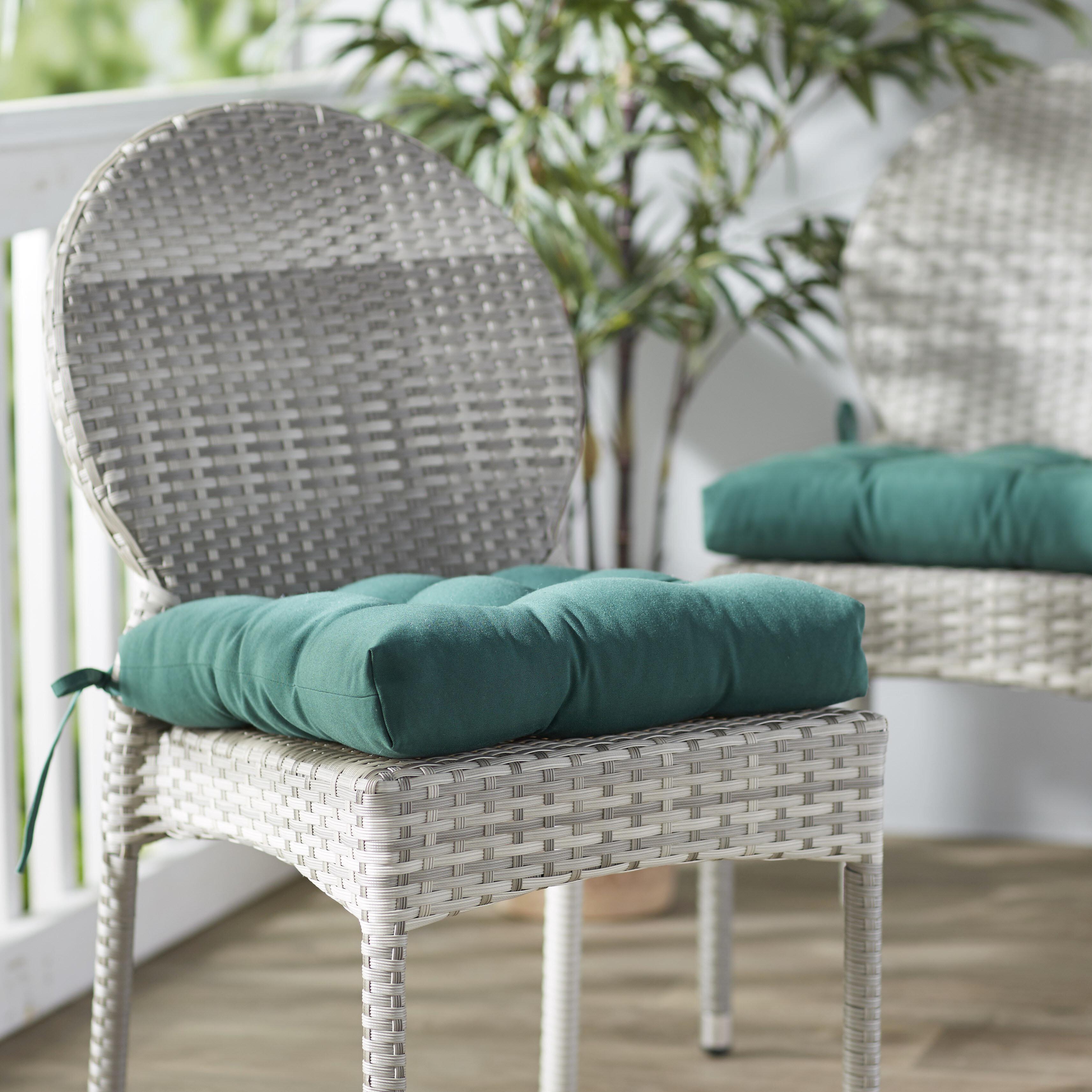 Green Chair Seat Cushions You Ll Love In 2020 Wayfair