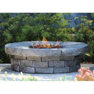 Aurora Concrete Propane/Natural Gas Fire Pit Table