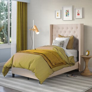 Debord Upholstered Panel Bed