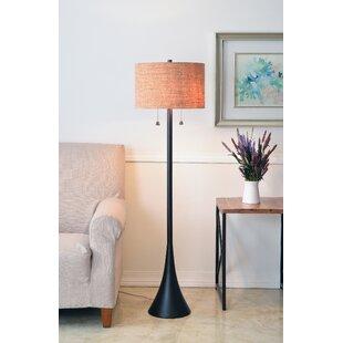 Best Reviews Haugland 58.63 Floor Lamp By Mercury Row
